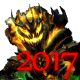 Icon: Did <b>70,000</b> or more damage to the Pumpkin during the <b>Halloween Event</b> of <b>2017</b>