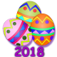 Icon: Found many eggs during the <b>Easter Egg Hunt Event</b> of <b>2018</b>